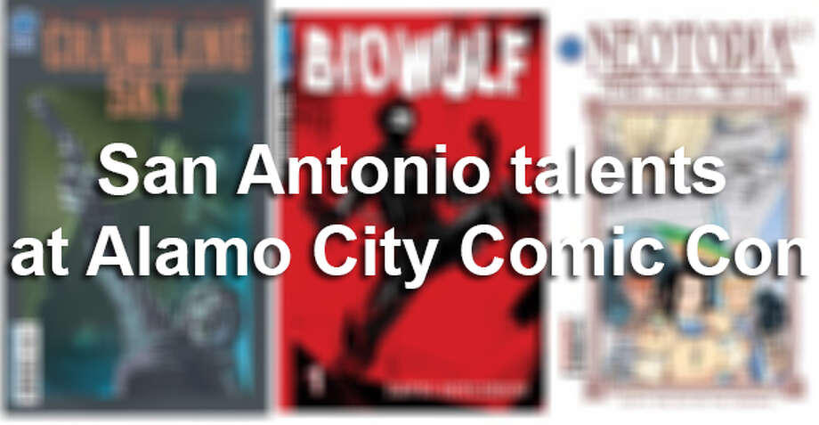 San Antonio talents at Alamo City Comic Con Photo: San Antonio Express-News