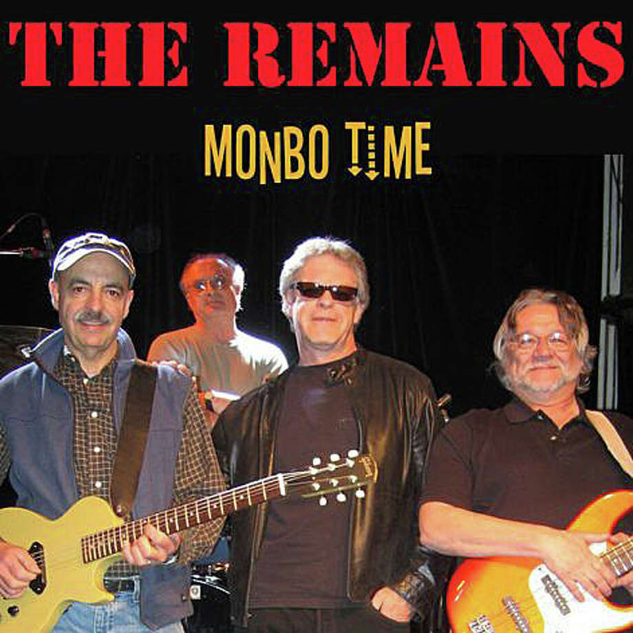 "In 2010, members of the Remains, including, from left, Barry Tashian, Chip Damiani, Bill Briggs and Vern Miller, released a single, ""Monbo Time,"" which raised funds for the Jimmy Fund, which supports Boston's Dana-Farber Cancer Institute. The band, which formed in the 1960s, was set for a reunion concert in the spring, but the members took time to regroup after Damiani's death in February. That rescheduled concert is set for Friday, Sept. 26, 2014, at the Fairfield Theatre Company in Fairfield. Photo: Contributed Photo / Fairfield Citizen"