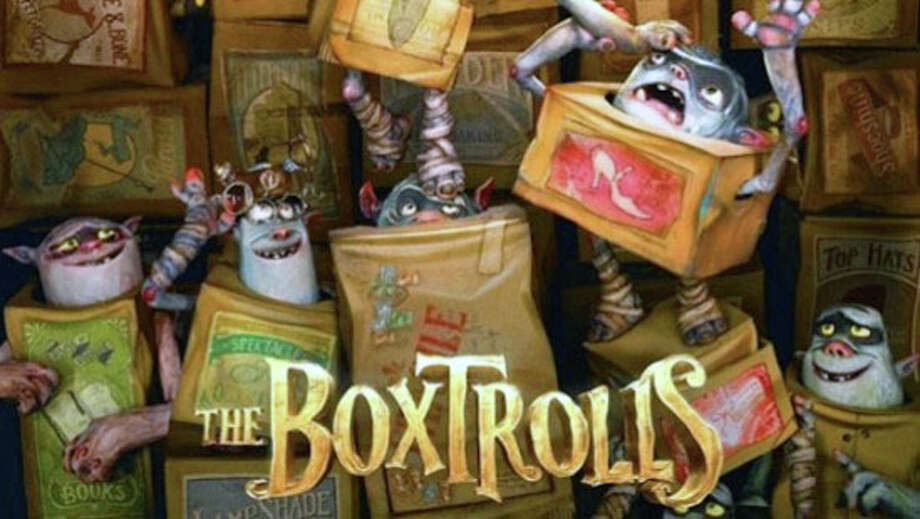 """""""The Boxtrolls"""" is a new animated fantasy playing in area movie theaters. Photo: Contributed Photo / Westport News"""