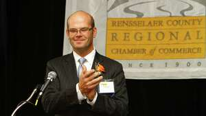 Were you Seen at the Rensselaer County Regional Chamber of Commerce's annual Van Rensselaer Awards event at the Hilton Garden Inn in Troy on Tuesday, Sept. 23, 2014?