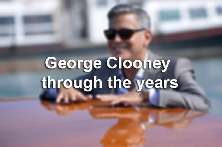 George Clooney's bachelor days are almost behind him. The 53-year-old actor is set to marry his fiancée Amal Alamuddin this weekend. Here are some photos of one of the sexiest bachelors through the years.
