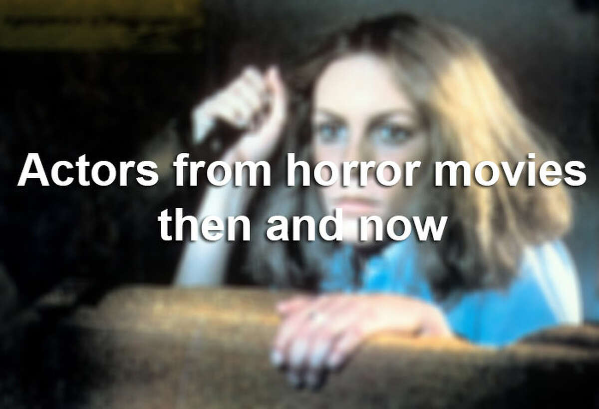 Leading up to the spookiest time of the year - Halloween - the month of October is great for watching horror movies. Take a look at some actors from horror movies then and now.