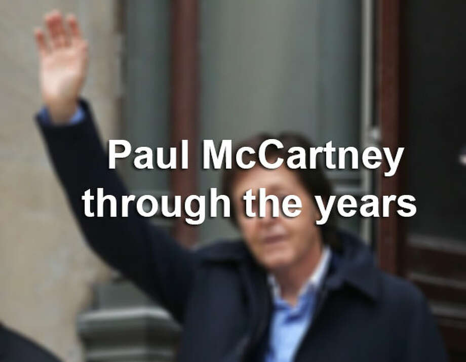 Paul McCartney to perform at the Tobin Center for the Performing Arts, Oct. 1 - Click to see photos of him through the years. / 2013 Danny Martindale