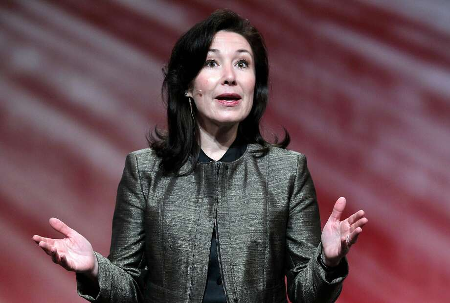 Safra Catz, 54, has risen up Oracle's ranks and had a compensation package 