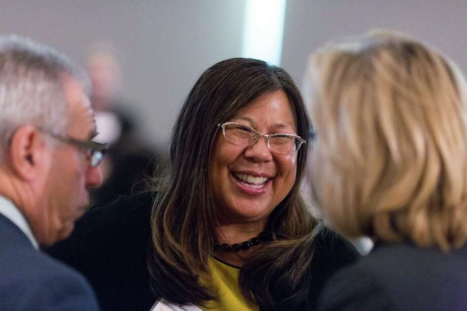 Betty Yee, Democratic candidate for state controller, at a reception and lunch put on by Emily's List at the Intercontinental Hotel in San Francisco in August. Photo: Jason Henry / Jason Henry / Special To The Chronicle / ONLINE_YES