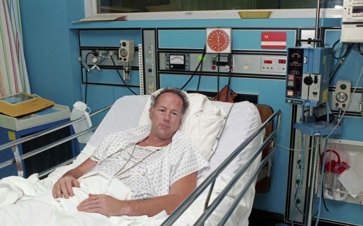 Fleck, recovering at Ben Taub Hospital.