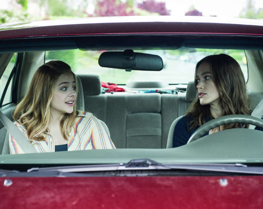 "Chloe Grace Moretz (left) and Keira Knightley in ""Laggies."" Photo: A24 / A24 / ONLINE_YES"