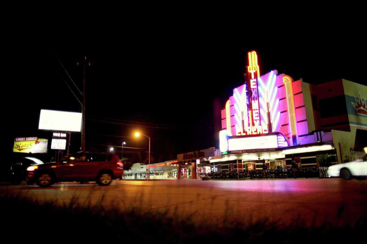 """The video shot for a montage accompanying Karim Al-Zand's """"City Scenes"""" includes a sequence on Westheimer outside the El Real Tex-Mex Cafe"""