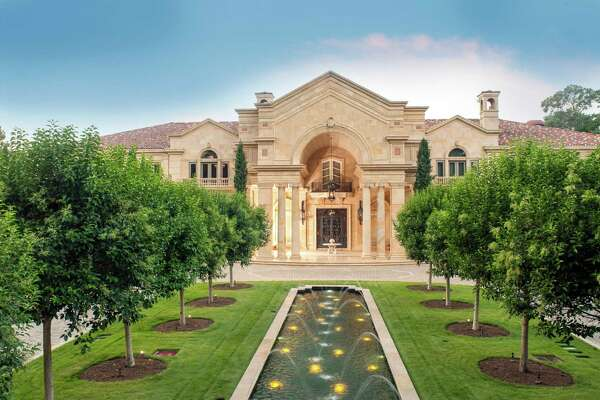 The 26,400-square-foot Tanglewood-area mansion belonging to Ed and Marie Bosarge is on the market for $43 million, a new record in Houston.