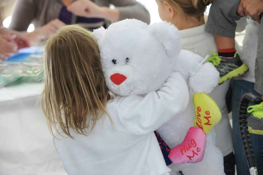 Greenwich Hospital will hold its annual Teddy Bear Clinic on Oct. 5.   The free, family event teaches youngsters about hospitals and medical procedures, and children are invited to bring their favorite stuffed toy or doll for evaluation and treatment by hospital staff. Photo: Helen Neafsey / Greenwich Time