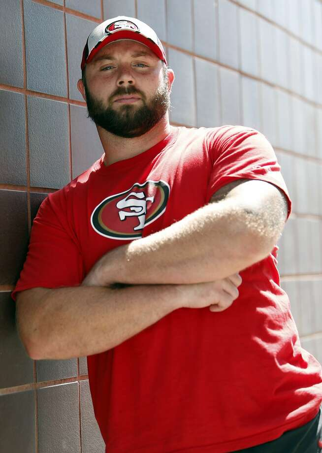 San Francisco 49ers' Daniel Kilgore at the Niners' practice facility in Santa Clara, Calif. in this file photo from Sept. 11, 2014. Photo: Scott Strazzante, The Chronicle