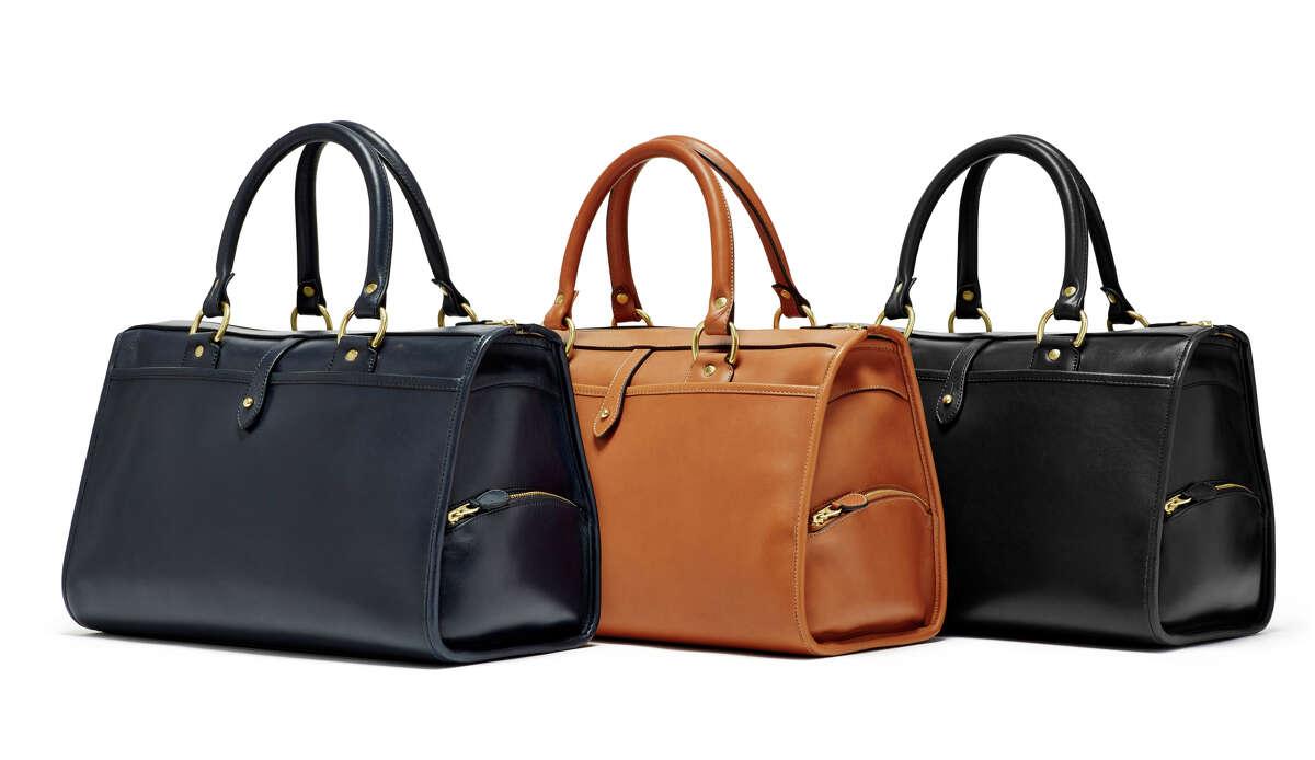 The Rover handbag , $1,295, from Ghurka's women's collection.