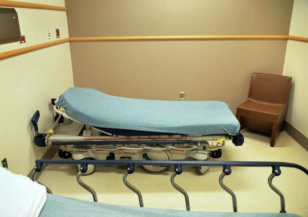 Behavioral care patient room at Ellis Hospital's new Emergency Care Center Thursday Sept. 18, 2014, in Schenectady, NY.  (John Carl D'Annibale / Times Union) Photo: John Carl D'Annibale / 00028570A
