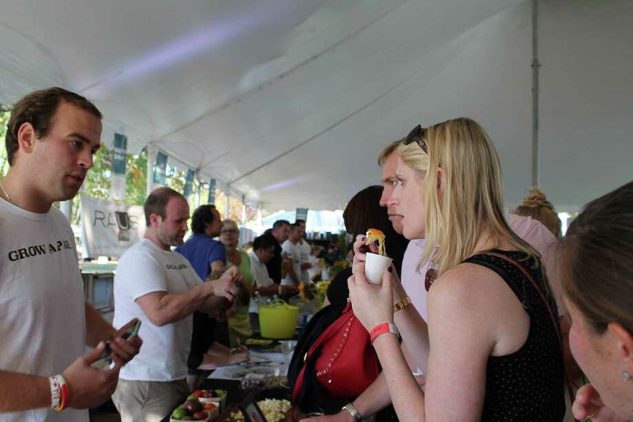 The Greenwich Wine & Food Festival is this Friday and Saturday. Find out more. Photo: Kasey Hilleary / Hearst Connecticut Media Group