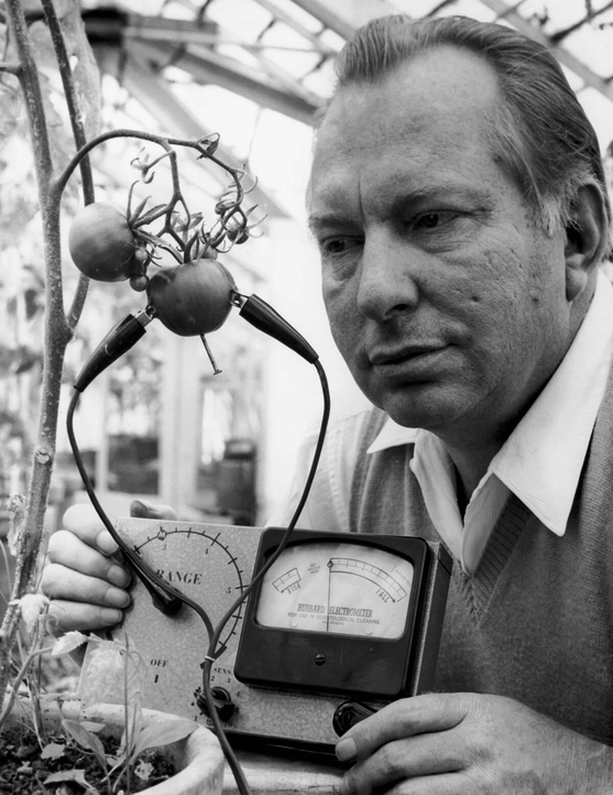 Science-fiction writer L. Ron Hubbard founded Scientology.