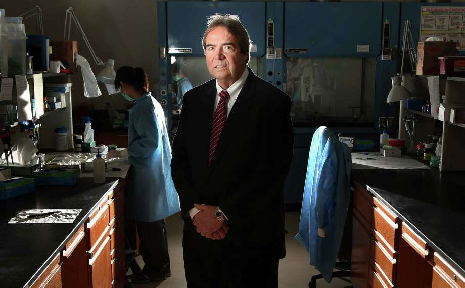 Daniel Garner is the director of the Houston Forensic Science Center, which operates independently of law enforcement, a revolutionary concept in the field. Photo: Mayra Beltran, Staff / © 2014 Houston Chronicle