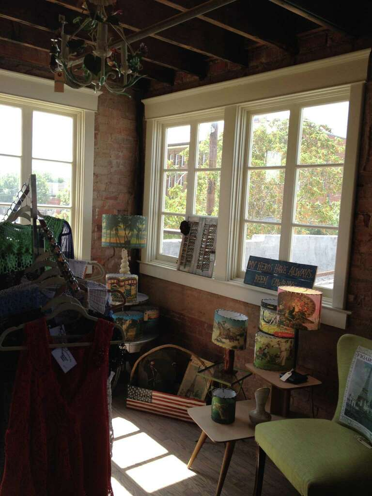 Consignment Shop Owner Marcie Brow Says A Lot Of Her Customers Drop In To  See The