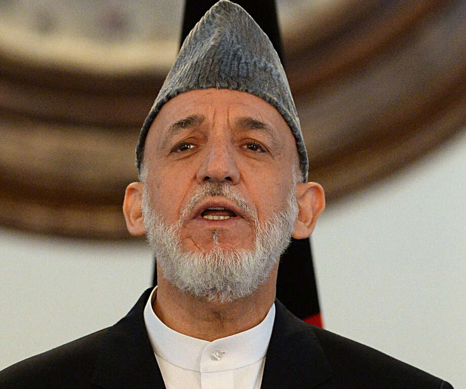 Outgoing Afghan President Hamid Karzai had publicly promised before the trial that the men would be executed when found guilty. Photo: Wakil Kohsar / Getty Images / AFP