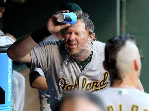 After not getting to play, Adam Dunn still says he's