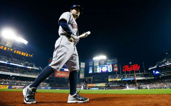 September 27: Mets 2, Astros 1  Eyeing the first batting title in team history, Jose Altuve went 0-for-4 in the second to last game of the season.  Record: 70-91. Photo: Jim McIsaac, Getty Images