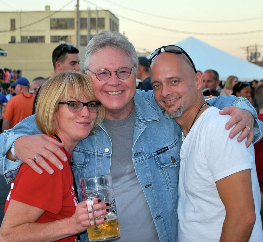 Were you Seen at the 5th annual Oktoberfest block party at Wolff's Biergarten in downtown Albany on Saturday, Sept. 27, 2014? Photo: Silvia Meder Lilly