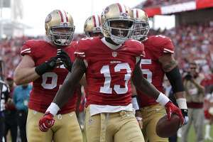 49ers' Stevie Johnson making case for more playing time - Photo