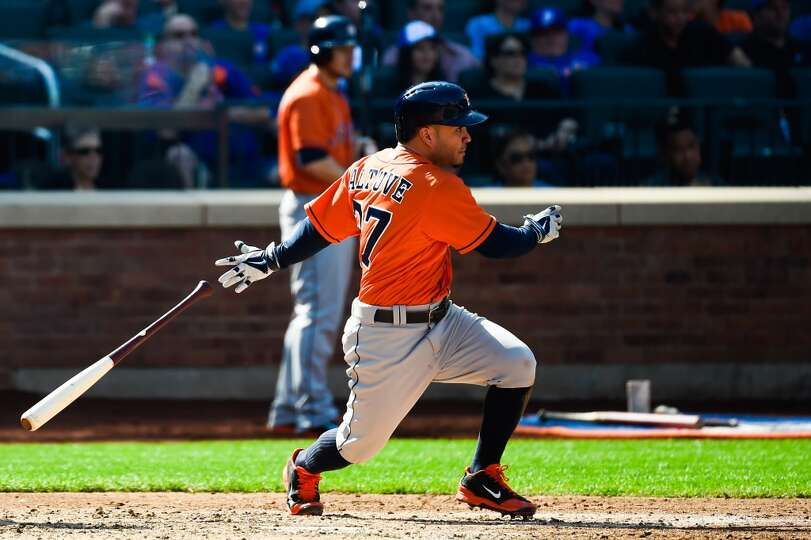September 28: Mets 8, Astros 3  Jose Altuve won the batting title on the