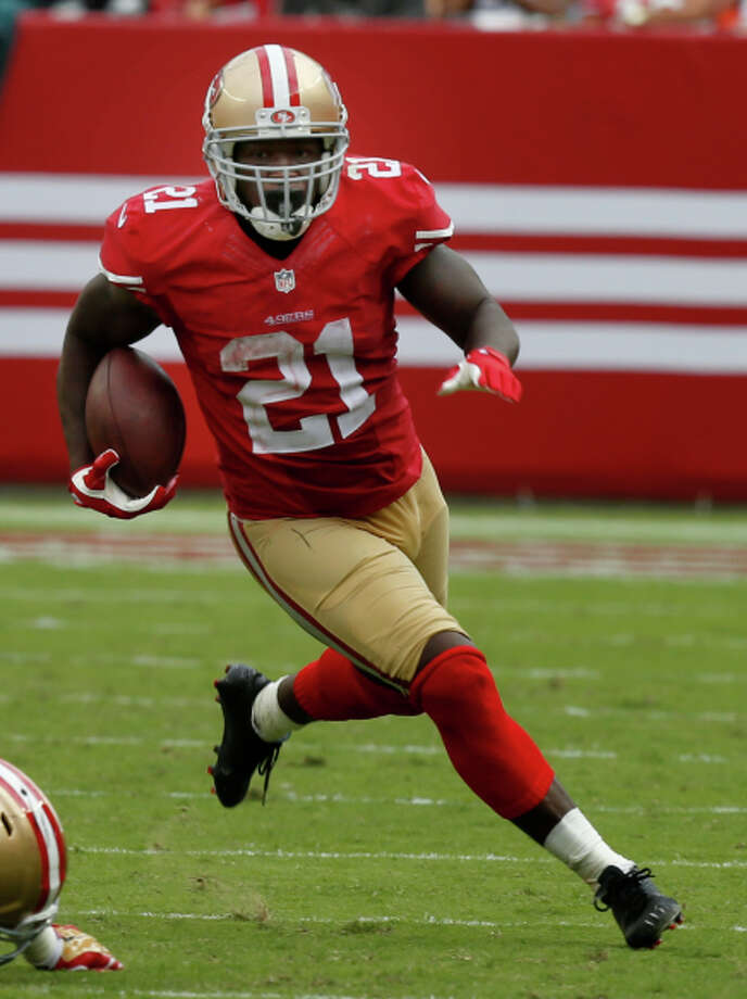 Frank Gore ran for 119 yards on 24 carries Sunday. Photo: Brant Ward / The Chronicle / ONLINE_YES