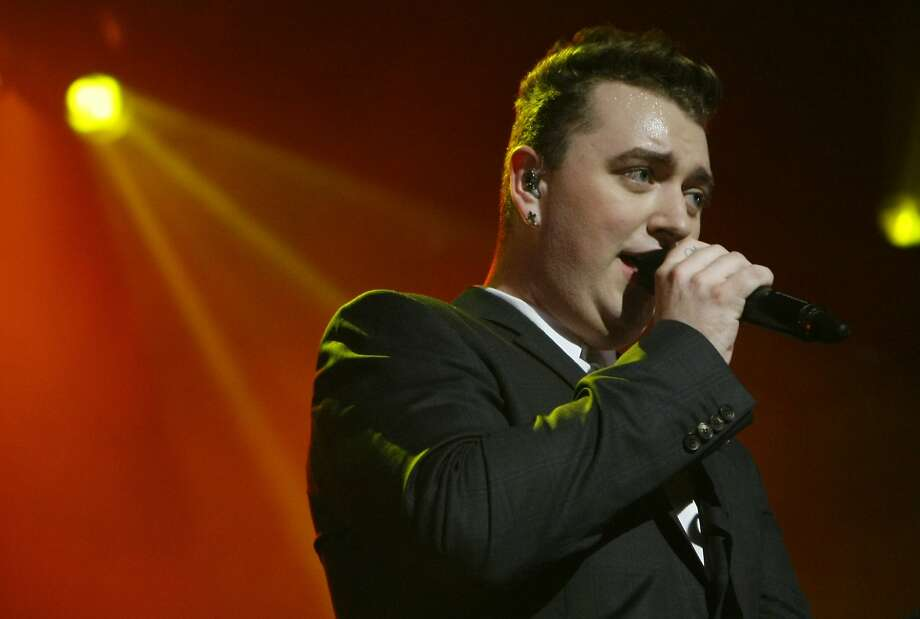 British soul singer Sam Smith performs at the Fox Theater in Oakland, Calif. Sunday, September 28, 2014. Photo: Jessica Christian, The Chronicle
