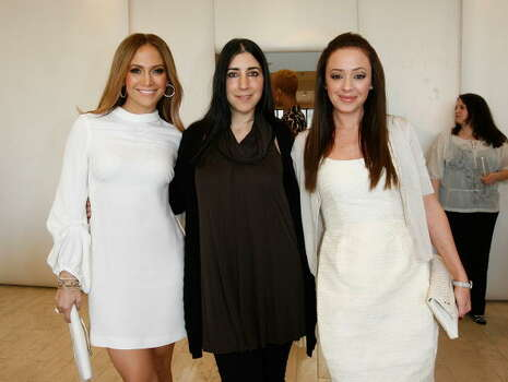 (EXCLUSIVE, Premium Rates Apply) BEVERLY HILLS, CA - FEBRUARY 18:  ***EXCLUSIVE***  (L-R) Singer Jennifer Lopez, stylist Andrea Lieberman and actress Leah Remini attend the Barneys New York and Jennifer Lopez Celebrate Andrea Lieberman event February 18, 2009 in Beverly Hills, California.  (Photo by Donato Sardella/WireImage) Photo: Donato Sardella, Getty Images / 2009 Donato Sardella