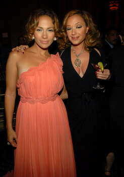 "NEW YORK - JULY 26:  Actress/Singer Jennifer Lopez and Actress Leah Remini at the after party for the premiere of ""El Cantante"" at Cipriani 42nd Street on July 26, 2007 in New York City.  (Photo by Kevin Mazur/WireImage) Photo: Kevin Mazur, Getty Images / 2007 Kevin Mazur"