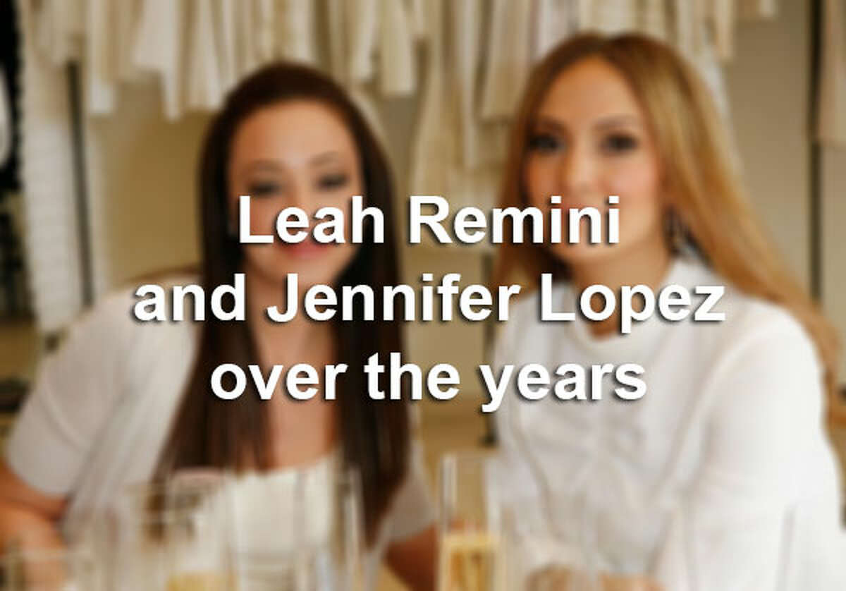 Here's a look at BFF Jennifer Lopez and Leah Remini through the years.