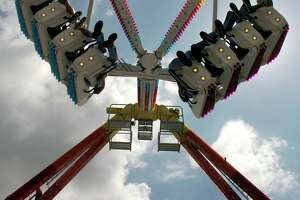 The Freakout takes fairgoers on a wild ride at the 2007 Texas Rice Festival in Winnie. Enterprise file photo