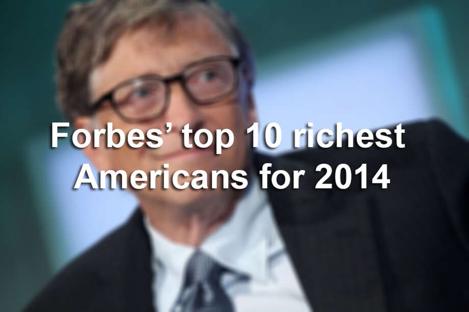 Forbes has named the 400 richest Americans in its annual list. See who made the top 10.