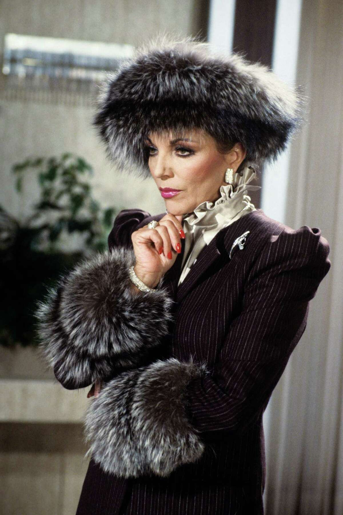Alexis Colby, Dynasty The queen of snark defined '80s glamour with a wardrobe full of fur, ruffles, lamé and shoulder pads. Alot of shoulder pads. The Best Fashion Blogger Instagrams to FollowThe Prettest Nude PolishesCelebrity Kids That Are Taking The SpotlightFabulous Fashion At Every AgeInspiring Celeb Denim LooksThis Season's It-Shoes