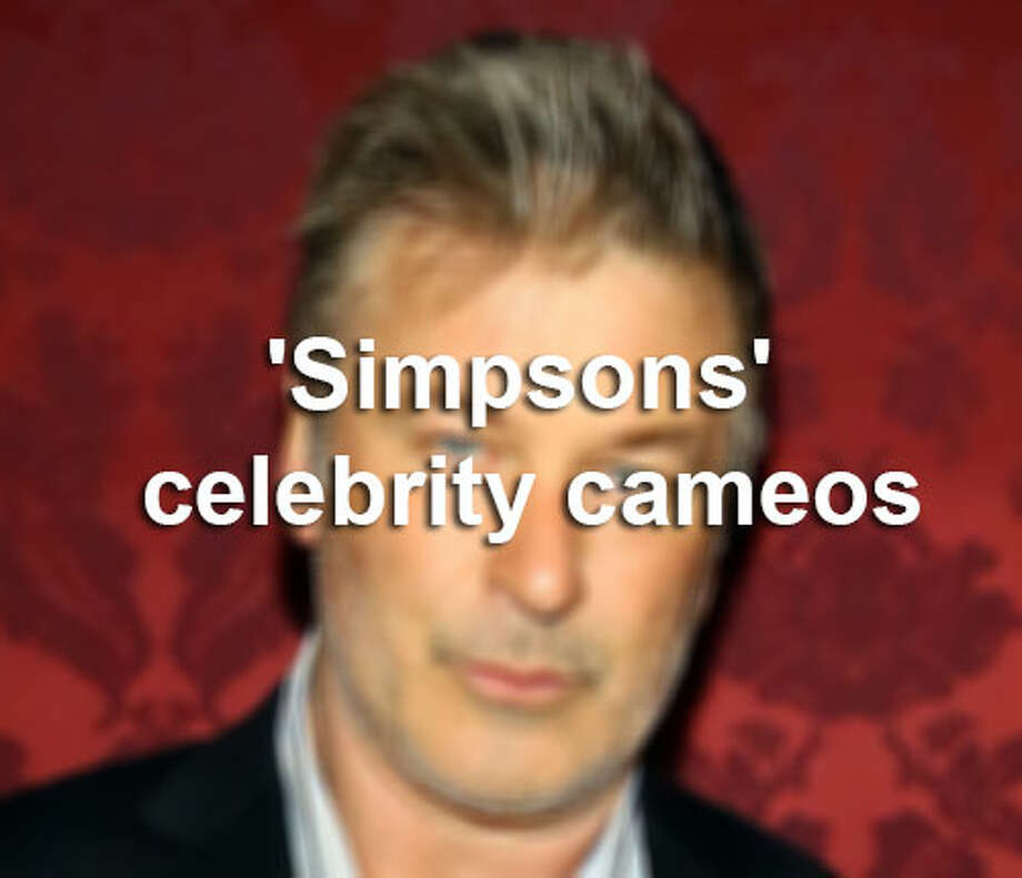"Take a look back at some of the best celebrity cameos on the ""Simpsons' TV show. / 2013 Getty Images"