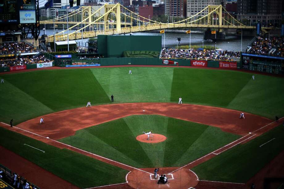 Pittsburgh Pirates Starting Pitcher Vance Worley Delivers During The Fifth Inning Of A Baseball Game Against
