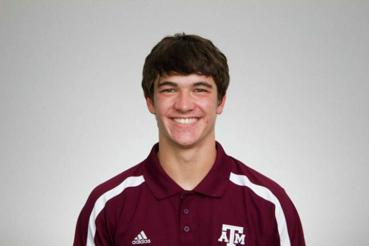 Former Texas A&M wide receiver and Churchill High School Charger Boone Niederhofer.