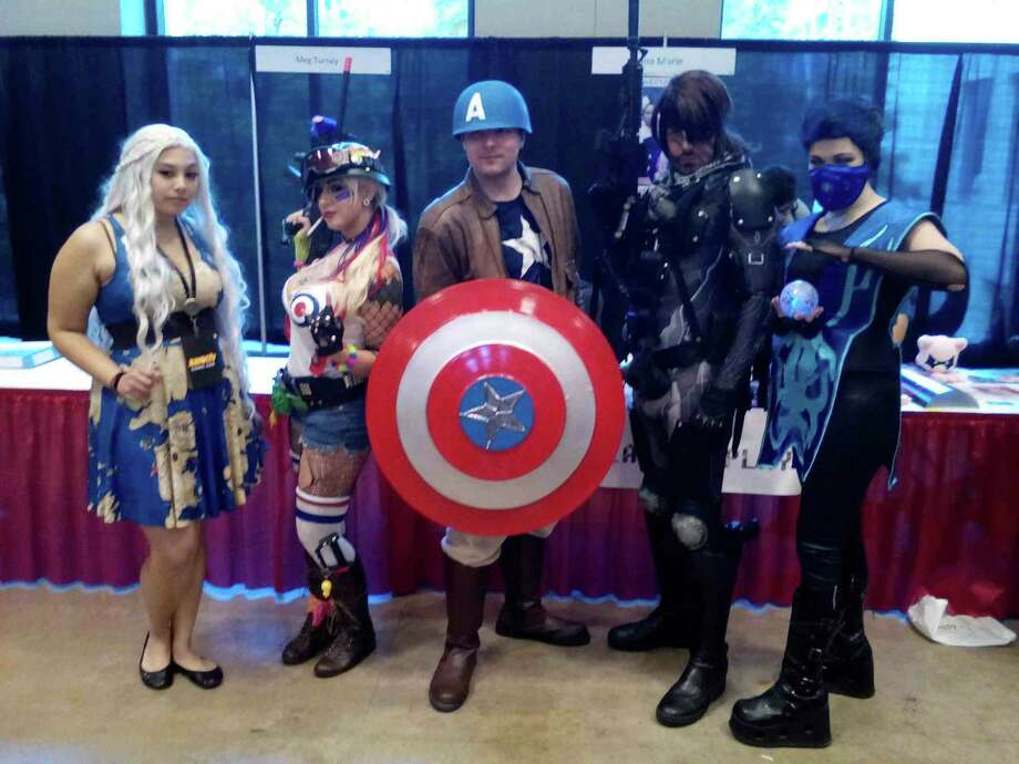 There was no shortage of patrons costumed as their favorite hero or villain during the second Alamo City Comic-Con, held Sept. 26-28 at Henry B. Gonzalez Convention Center. Photo: Edmond Ortiz / S.A. Express-News