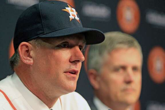 A.J. Hinch becomes the second manager hired by general manager Jeff Luhnow, who moved quickly after letting go of Bo Porter on Sept. 1.