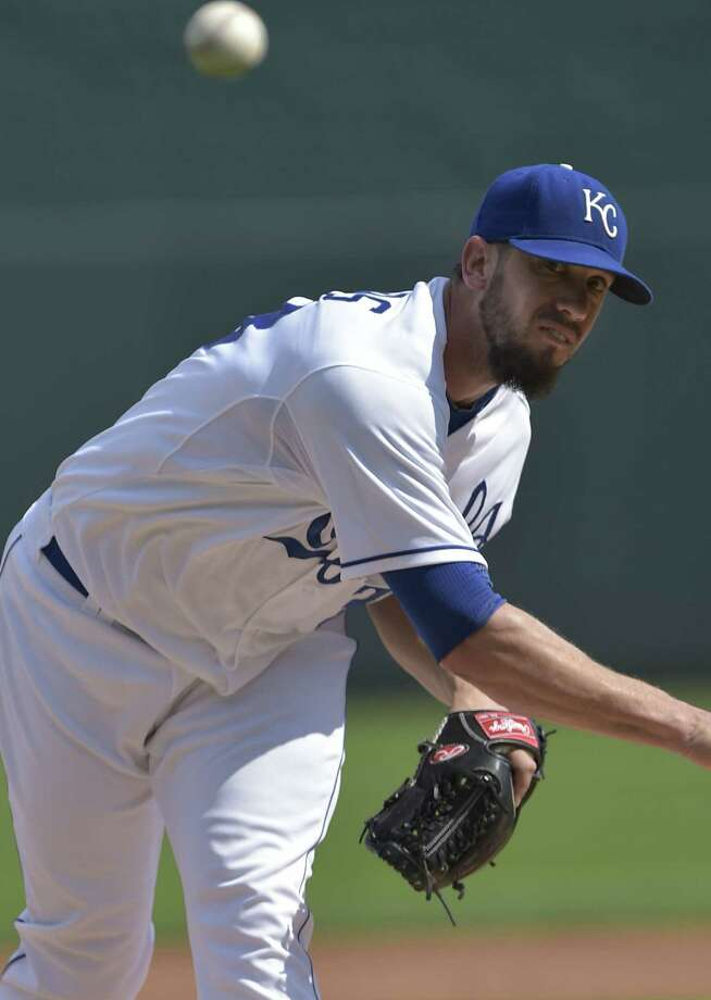 The Royals' trade for James Shields helped get them to the playoffs, manager Ned Yost said. Photo: Reed Hoffmann / Associated Press / FR48783 AP