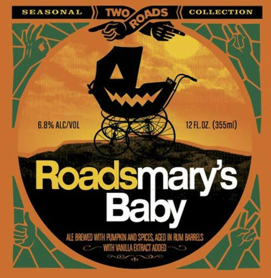 """Two Road's in Stratford brews """"Roadsmary's Baby,"""" a pumpkin beer.  It is only available seasonally."""