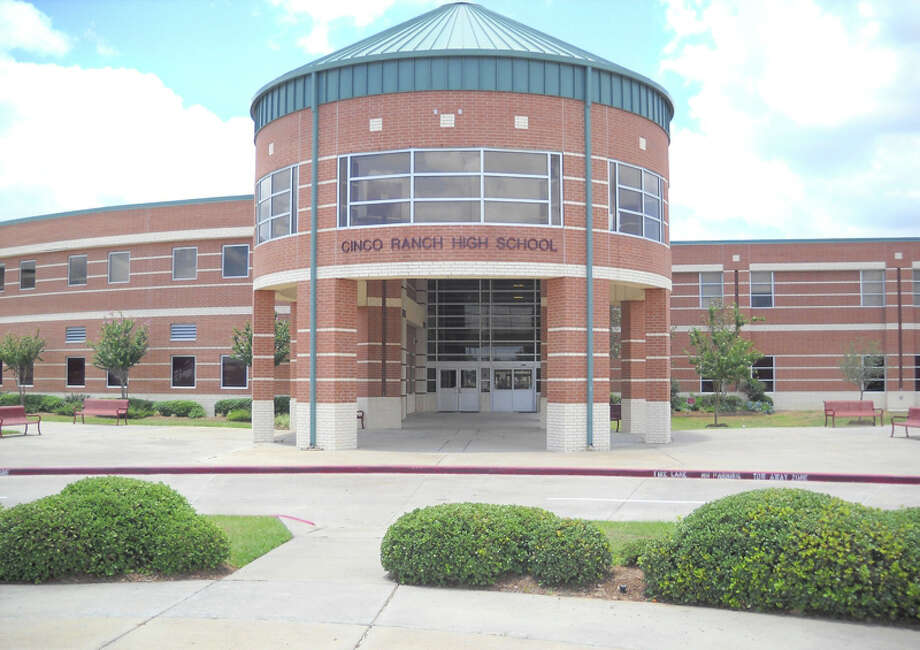 Cinco Ranch High School was evacuated early Monday. Photo: Courtesy Cinco Ranch High School