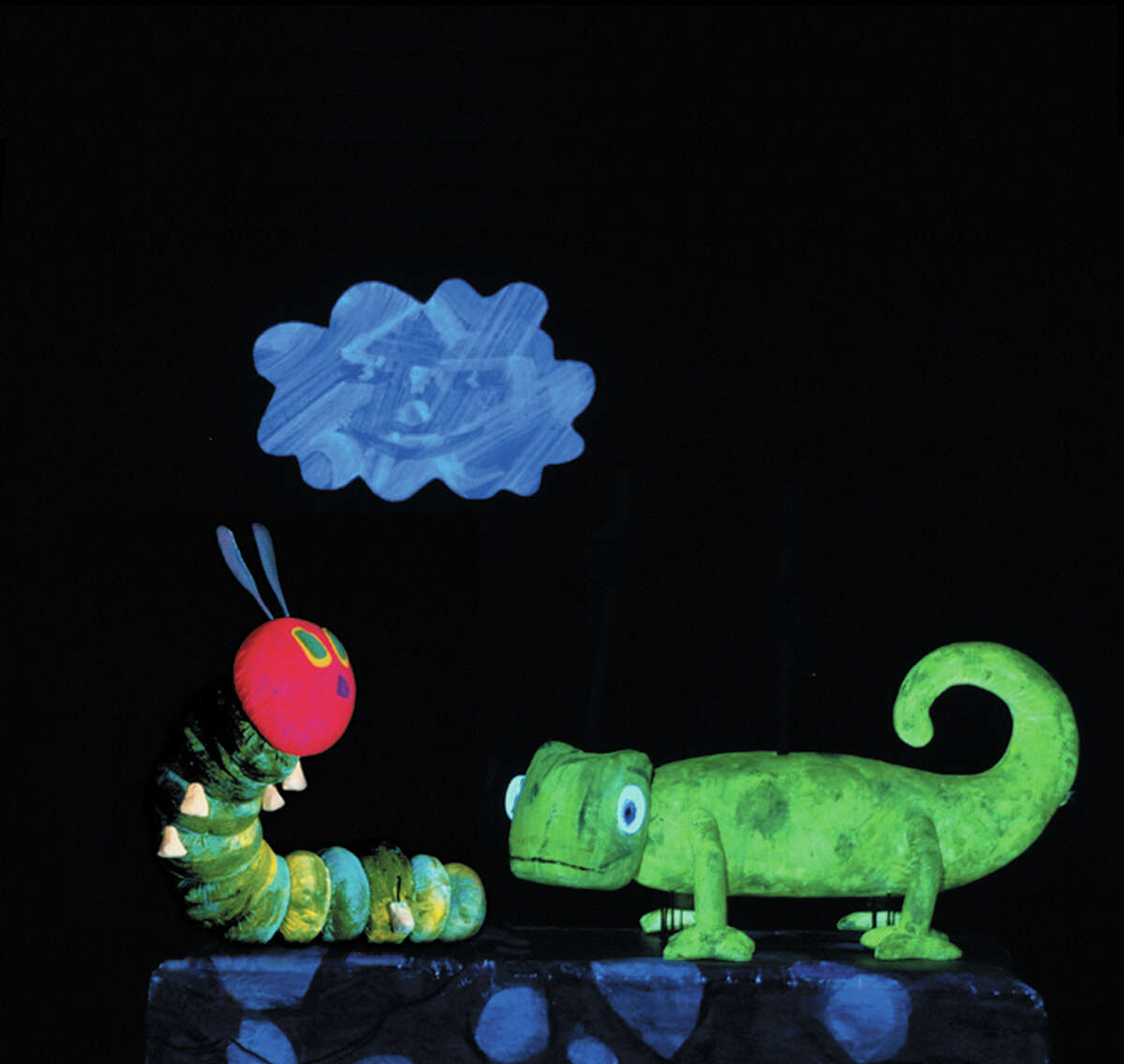 """The Children's Fine Arts Series launches its first season in residence at the Tobin Center for the Performing Arts with """"The Very Hungry Caterpillar and Other Eric Carle Favorites."""" The show, performed by the Mermaid Theatre of Nova Scotia, focuses on Carle's much-adored pictured books.6:30 p.m. Monday, H-E-B Performance Hall, Tobin Center, 100 Auditorium Circle. $9 at childrensfineartseries.org and tobi.tobincenter.org. 210-340-4060.- Deborah Martin"""
