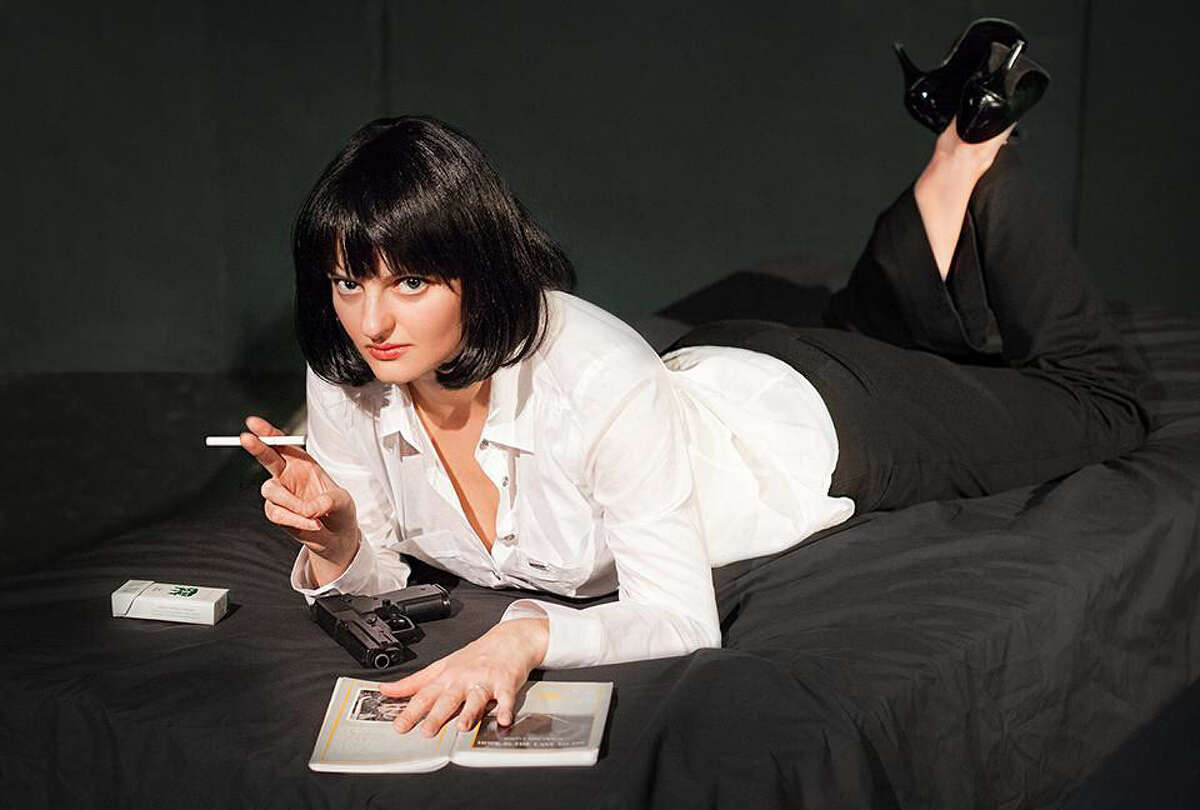 Dasha Voronyak plays Mia Wallace in the Rose Theatre Company's adaptation of