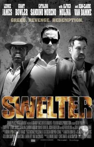 'Swelter' - Bishop is a small-town sheriff, making an honest living, with no memory of his criminal past. But when his old crew rolls into town looking for their loot, the perfect getaway threatens to turn into a nightmare of greed, revenge, and retribution. Available Oct. 11 Photo: Handout