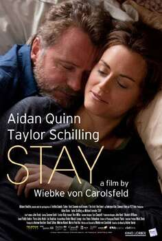 'Stay' - Ex-professor Dermot and his girlfriend, Abbey, are forced to reevaluate their feelings about family when she becomes pregnant. Facing an uncertain future, Abbey revisits her roots in Canada, while Dermot forges a tentative bond with a local boy. Available Oct. 15 Photo: Handout