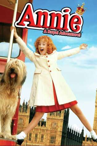'Annie: A Royal Adventure' - Annie, the charming orphan with a head full of red curls, and her beloved dog, Sandy, join her darling Daddy Warbucks for a trip to England to meet the queen. But will a little girl used to a hard-knock life make a good impression on royalty? Available Oct. 1 Photo: Handout