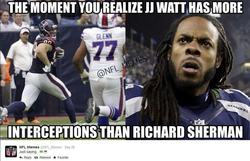 Funny Nfl Memes: September 28, 2014 Buffalo Bills @ Houston Texans, Score
