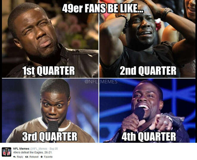Kevin Hart Commercial >> 49ers fans September 28, 2014 Philadelphia Eagles @ San ...